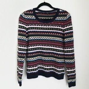 Women's Talbot Multicolor Wool Blend Sweater